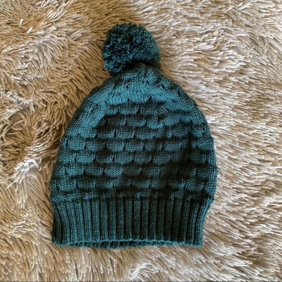 STUSSY pom knit beanie
